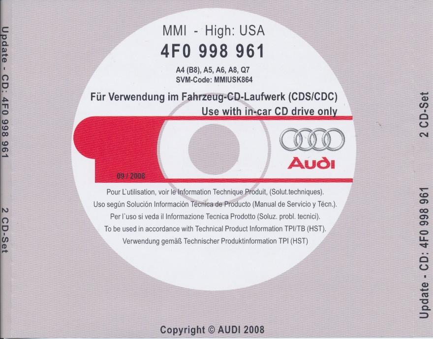 MMI 2G High – 4610– USA (A4 – A5 – A6 – Q7 – A8)